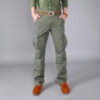 厂家直销男式休闲裤 多袋工装男裤 男士户外纯棉加厚长裤298