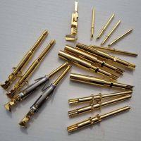 连接器传感器航空插针镀金不锈钢公母端插针[来图来样定制加工]