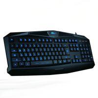供应ET 焰灵I200背光游戏键盘 防水抗暴 19键不冲突USB有线多媒体键盘
