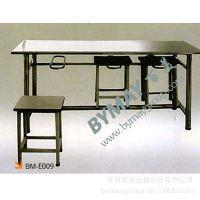 厂家直销批发不锈钢餐桌 多人餐桌
