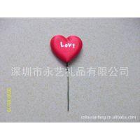有铁线心型 红色心型 超声波电压心型 玩具爱心 丝印LVOE爱心