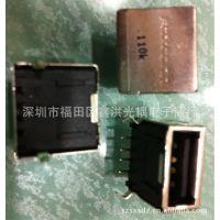 FOXCONN富士康连接器USB卡座UB1112C-K1-4F
