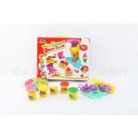 厂家直销新款益智玩具 盒装彩色橡皮泥 彩泥