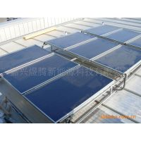 供应煜腾大型工程集中供热系统  强力抗冻 高效供暖 平板太阳能