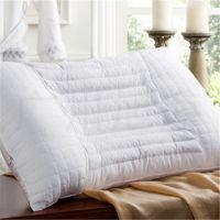 立体简约白色学生枕芯 外贸出口批发 提花高档纯棉枕头