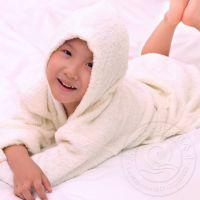 厂家定做纯棉儿童浴袍 童家居服儿童浴袍外贸出口 韩版浴袍批发