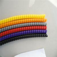 耐油耐磨防水PP螺旋保护套液压软管保护套