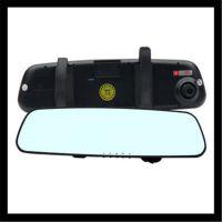 双镜头车载原车后视镜 高清广角夜视140度 迷你行车记录仪 行驶记
