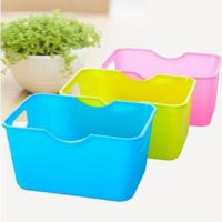 创意家居迷你桌面长方形收纳盒 杂物整理盒 置物盒