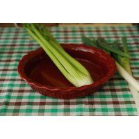西式餐具沙拉盘 外贸烧烤盘汤盘批发 纯色深盘子