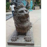 厂家专业定做狮子雕塑 动物雕塑 雕塑产品***全量大优惠