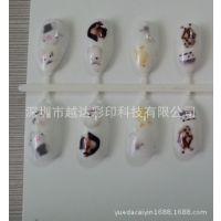 【企业采集】塑料工艺指甲彩绘机 ABS塑料假指甲喷绘机批发基地