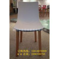 广东厂家直销白色塑料椅子 塑木塑胶椅 伊姆斯餐椅