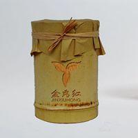 巨匠厂家定制高档环保创意欧式竹子原生态留青竹茶叶筒创意独特竹制礼品工艺包装