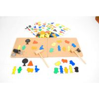 童园木制玩具 快乐小工匠之农场  专业教具 培乐迪