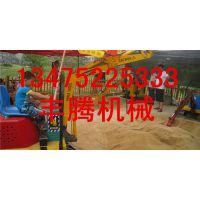 山东丰腾是生产儿童挖掘机的基地 大、中、小各种型号挖土机