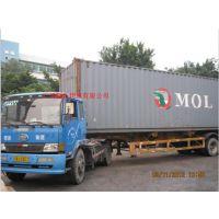 广州黄埔港集司码头进口危险品柜拖柜运输