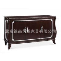 锦尚家具定制 可根据尺寸定制 新古典电视柜 边柜 酒店电视柜