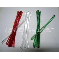 供应塑胶透明带子,PVC吊绳,行李牌挂绳,胶绳,抽条 (图)