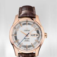 瑞士高档休闲手表 碟飞系列男式商务腕表 双日历全自动机械表