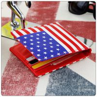 欧美个性时尚短款钱包英国旗美国旗票夹速卖通热销货运