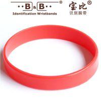 厂家供应夜光硅胶手环 不抱怨手环 篮球运动装饰手环 识别带