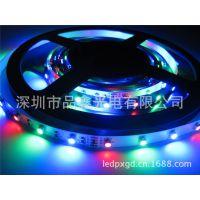 SMD3528  RGB七彩色灯带 裸板软灯条 不防水 每米60珠 300灯