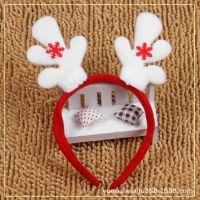 供应圣诞节用品 礼物 圣诞老人头箍 发箍 圣诞雪人头饰 儿童头箍