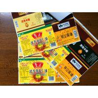 深圳不干胶标签印刷厂家供应优质食品标贴