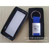 厂家热销涤纶织带锌合金拼接组合金属钥匙扣 挂件