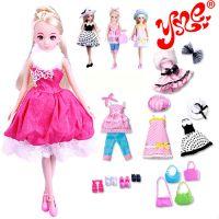 2014专柜乐吉儿洋芭比娃娃梦幻衣橱套装大礼盒正品公主女孩玩具