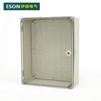 伊森 500*400*195 塑料配电箱 ABS阻燃箱 基业箱 防水密封箱 明装