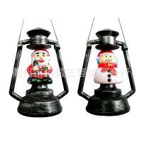 供应圣诞节用品 圣诞节礼品摆设酒吧装饰 电动煤油灯