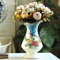 创意欧式家居饰品餐桌花瓶富贵竹花瓶摆件插花结婚礼物