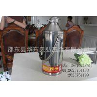 供应湖南邵东不锈钢保温瓶 厂家直销8P鸭嘴热水瓶