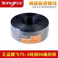 供应Tengfei腾飞 视频网络监控线 96编摄像头安防同轴电缆综合线200米