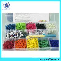 高端礼品 塑料盒装rainbow loom