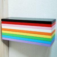 高密度板精品 实木板 隔板 货架专用板 服装店装修板材