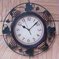 供应欧式铁艺钟工艺钟 创意铁艺钟 仿古铁艺钟 迷你铁艺钟