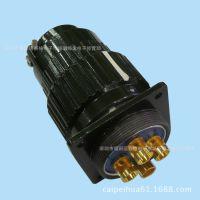 航空插座插头YP36TK4芯对接式镀金触点通过500V100A电流