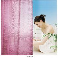新乐华宝 厂家直销 外贸加厚环保 多花型多尺寸 100%EVA3D浴帘