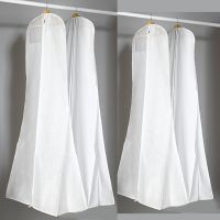 外贸 加大拖尾鱼尾婚纱防尘罩 加宽加厚双面无纺布批发