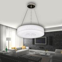 厂家直销LED白色满月圆形吸顶吊灯 卧室书房餐厅灯具可订做6103