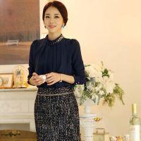6336#2014新款韩版修身套头打底衫女衬衣 送吊带