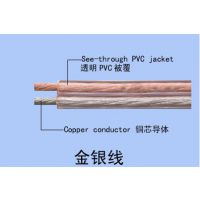 供应环威电线电缆,平行音箱线RYVB2*0.4,电脑功放连接线,50芯音箱线