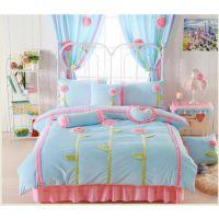 优质保暖天鹅绒四件套床上用品采购价格 厂家直销天鹅绒床单床罩