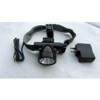 【专业品质】供应锂电池LED头灯 LED充电手电筒 LED打猎灯