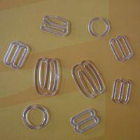 【珍博服装辅料】供应透明塑料文胸调节扣,8字扣,9字扣,0字扣