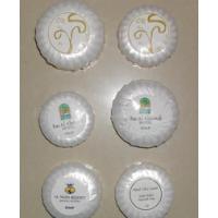 供应酒店一次性香皂批发 宾馆客房用品圆形小肥皂