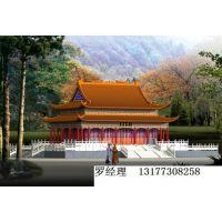 供应寺庙效果图设计描绘,寺庙规划图描绘,寺院施工图描绘设计